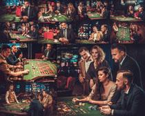 赌场人物摄影高清图片