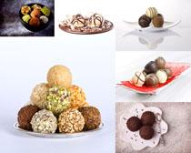 巧克力丸子拍摄高清图片