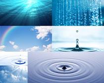 水滴景色摄影高清图片