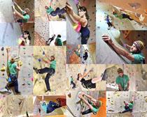 体育攀岩人物摄影高清图片