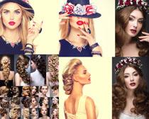 国外女子发型模特摄影高清图片