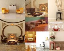 室内家居沙发布置摄影高清图片