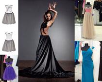 美女模特服装展示拍摄高清图片