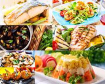 海鲜鱼国外食物摄影高清图片