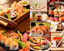 日本寿司食物摄影高清图片