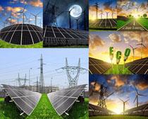 太阳能电力摄影高清图片