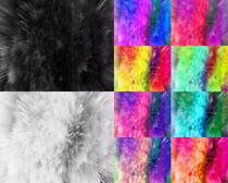 彩色分散背景摄影高清图片