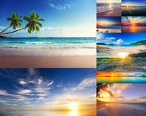 唯美的海边风景摄影高清图片