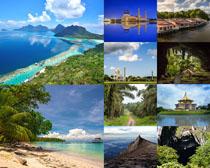 海岛风景景点摄影高清图片