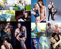 时尚情侣男女摄影高清图片