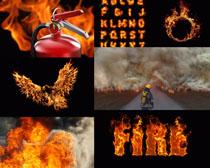 消防火焰摄影高清图片