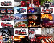 消防汽车拍摄高清图片