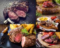 外国牛肉美食摄影高清图片