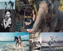 欧美美女与动物摄影时时彩娱乐网站