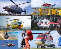 直升飞机交通工具摄影高清图片