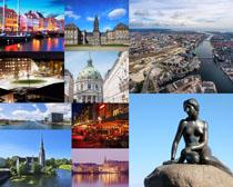 国外城市风光雕塑摄影高清图片