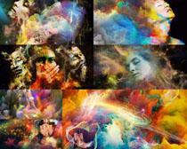 水墨人物烟雾画摄影时时彩娱乐网站