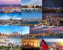 国外繁华都市建筑摄影高清图片