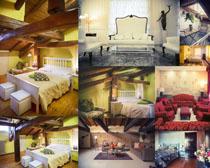 家居布置风格摄影高清图片