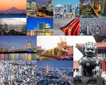 日本城市雕塑摄影高清图片