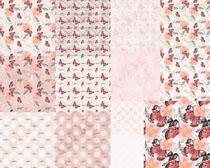 蝴蝶粉色图案背景摄影高清图片