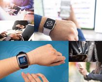 商务功能手表摄影高清图片