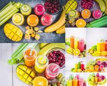 水果饮料果汁摄影高清图片