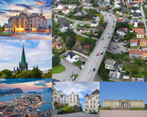 国外城市风光拍摄高清图片