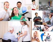 欧美牙科医生摄影高清图片