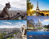 欧美塑像建筑摄影高清图片