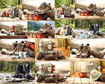 登山工具装备摄影高清图片