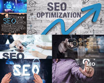 优化SEO商务摄影高清图片