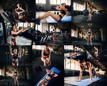 健身欧美身材美女摄影高清图片