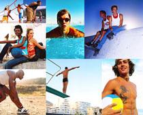 国外运动青年摄影高清图片