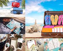 旅游计划与装备摄影高清图片