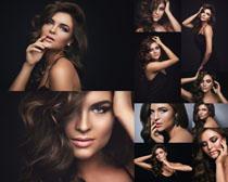 欧美时尚发型美女拍摄高清图片