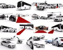汽车飞机交通工具拍摄高清图片