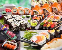 国外寿司食物摄影高清图片