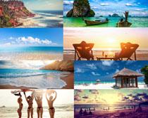 美丽的海岛风景拍摄高清图片