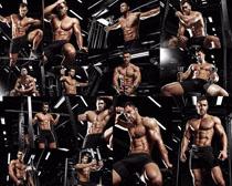 健身肌肉欧美男人摄影高清图片