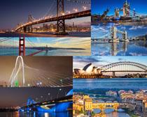 桥梁建筑景观拍摄高清图片