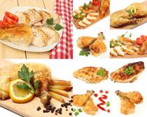 炸鸡与薯条拍摄高清图片