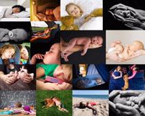 宝宝儿童睡觉拍摄高清图片