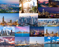 高楼大厦城市建筑摄影高清图片