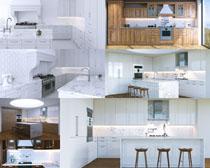 室内厨房设计摄影高清图片