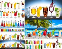 果汁展示摄影高清图片
