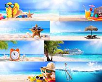 大海风景与物品摄影高清图片