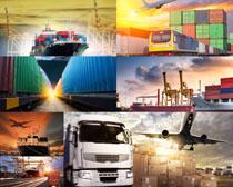 交通工具货运箱摄影高清图片