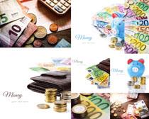 欧美货币拍摄高清图片