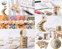 金融货币理财摄影高清图片